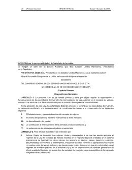 28      (Primera Sección) DIARIO OFICIAL