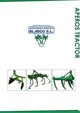 Catálogo Precios aperos tractor, nuevo catalogo 2013, cultivadores, sacaleñas, palas traseras, trejillas, subsoladores ect.