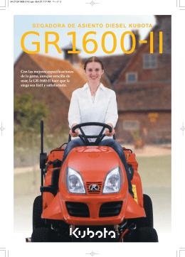 Catálogo GR1600 II