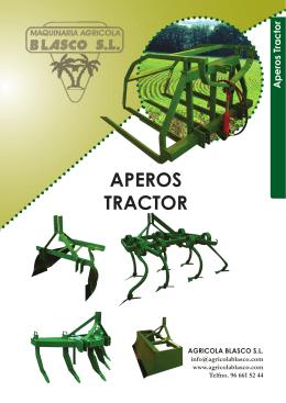 Catálogo Cultivador 7 brazos tipo topo para tractores fruteros y articulados tipo reforzado