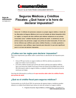 Cut the Cost of Health Insurance - Spanish