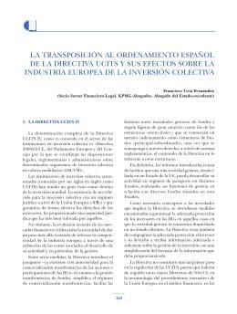 UCIT's IV