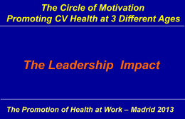 Nueva ventana:The Leadership Impact (pdf, 5,61 Mbytes)
