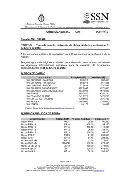 COMUNICACI N SSN 3470