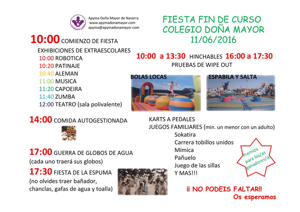 Fiesta Curso 110616 pdf Programa Fin QBWdCrEoxe
