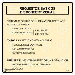Nueva ventana:Requisitos básicos de confort visual (pdf, 23 Kbytes)