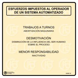 Nueva ventana:Esfuerzos impuestos al operador de un sistema automatizado (pdf, 23 Kbytes)