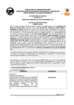 acta de aclaracion lpn 12121001-001-10