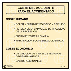 Nueva ventana:Coste del accidente para el accidentado (pdf, 38 Kbytes)