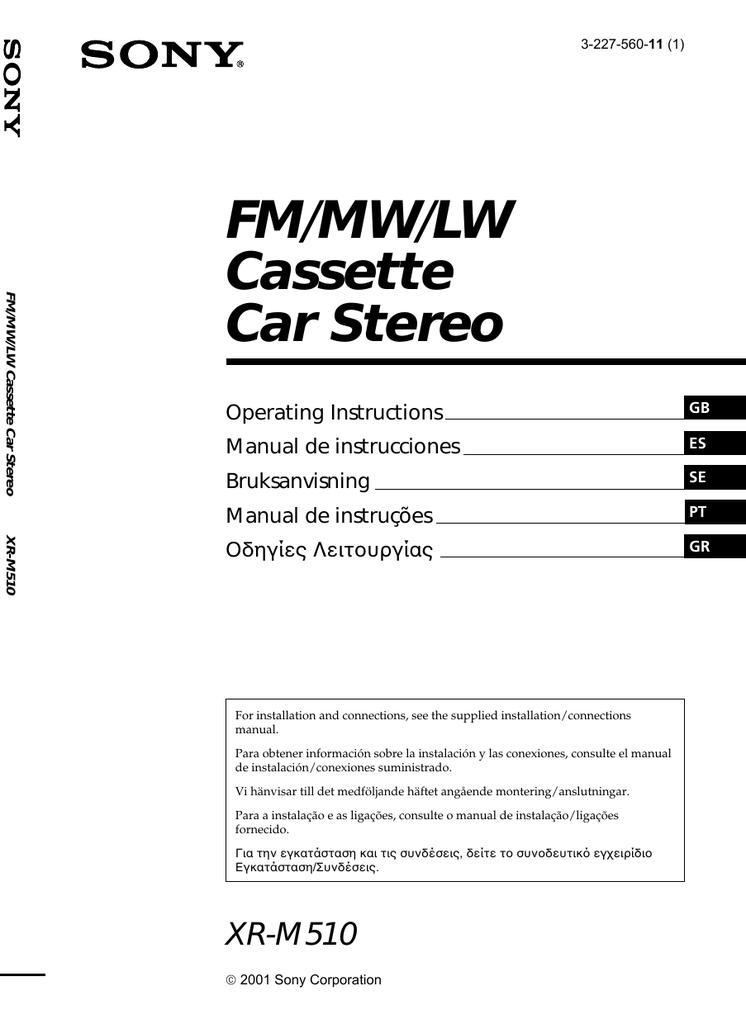 Istruzioni per luso della radio portatile FM.