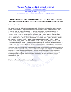 D. Notice of Parent Rights Letter 2016-17 (Spanish)