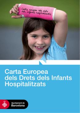Carta dels Drets de l'Infant Hospitalitzat