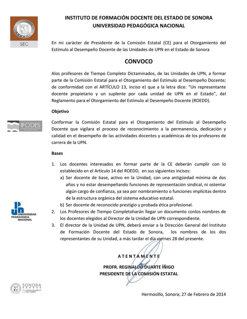 Comisión estatal para el otorgamiento docente del estímulo al desempeño docente otorgamiento 2b2b1f