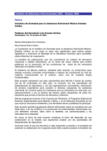 XIII Congreso Latinoamericano de Nutrición