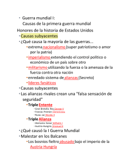 WW1 Events Prior to US Entry - SPANISH.docx