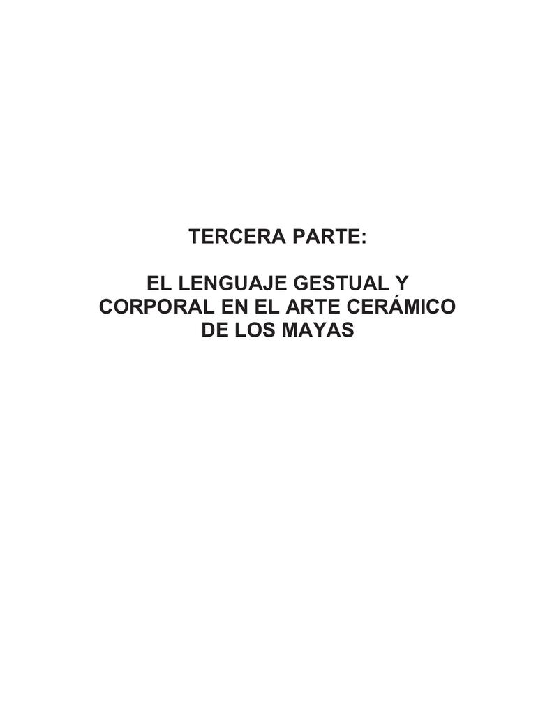 Corporal Gestual Arte En Cerámico Tercera Y ParteEl De Lenguaje QhtrCsd