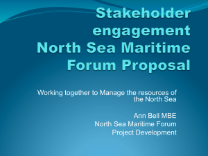 Working together to Manage the resources of the North Sea