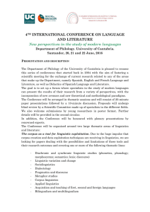 4TH INTERNATIONAL CONFERENCE ON LANGUAGE AND