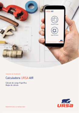 Calculadora URSA AIR