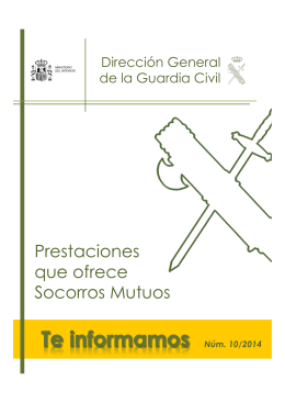 Socorros Mutuos - INDEPENDIENTES DE LA GUARDIA CIVIL