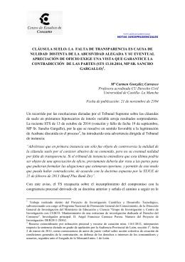 Tema 21 elementos accidentales del negocio jur dico for Clausula suelo significado