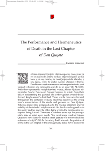 The Performance and Hermeneutics of Death in the Last - H-Net