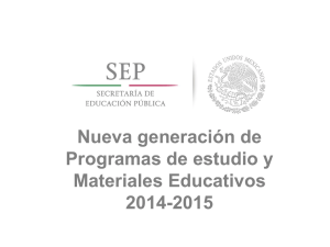 Nuevos Materiales Educativos. Mtro. Hugo Balbuena Corro