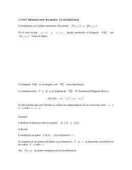 Relación entre objeto matemático y sentidos en situaciones de