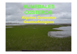 HUMEDALES COSTEROS: