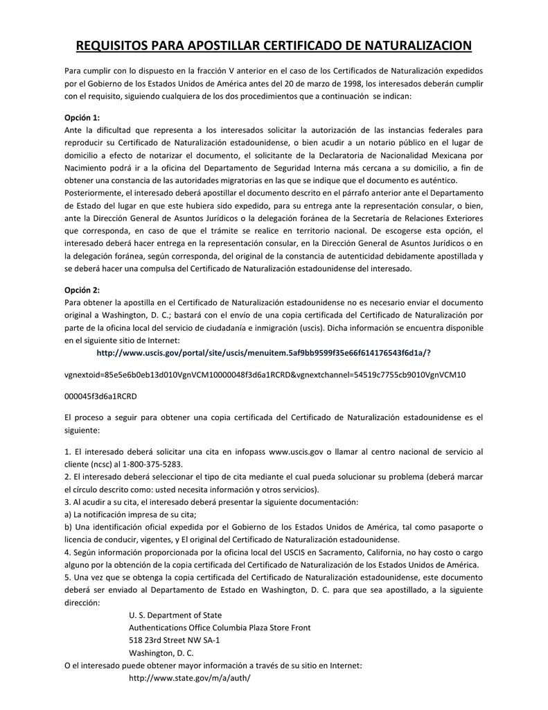 Atractivo Copia Certificada Del Acta De Nacimiento Del Estado De ...