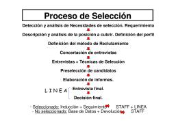 Mapa De Proceso De Reclutamiento Seleccion Y Contratacion