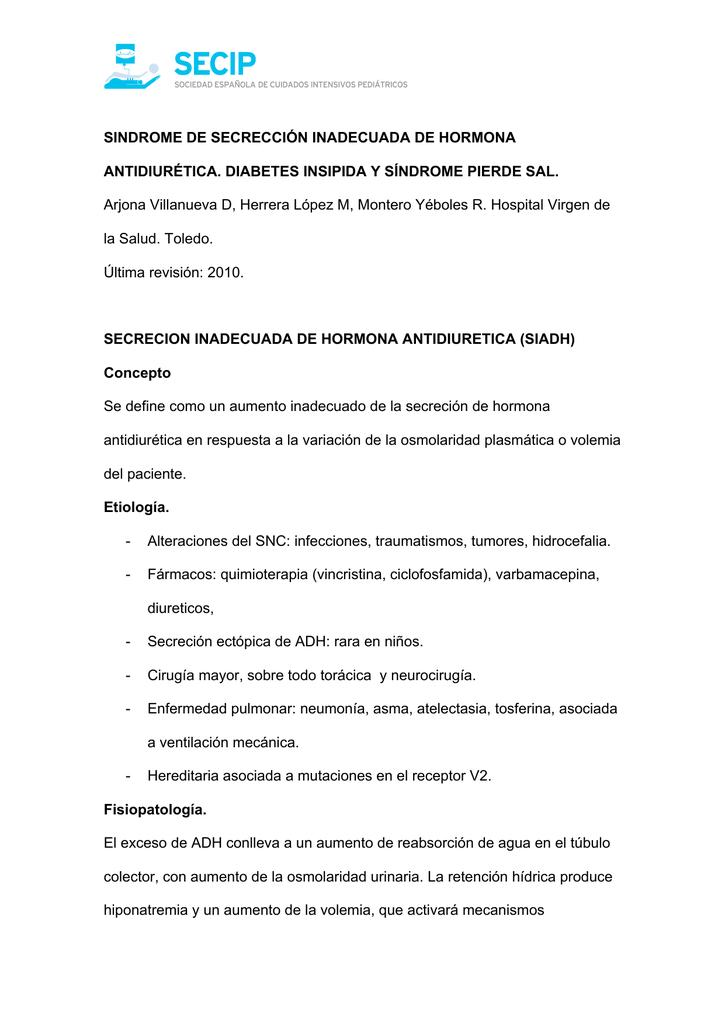 Penyakit diabetes insípida archivos pdf