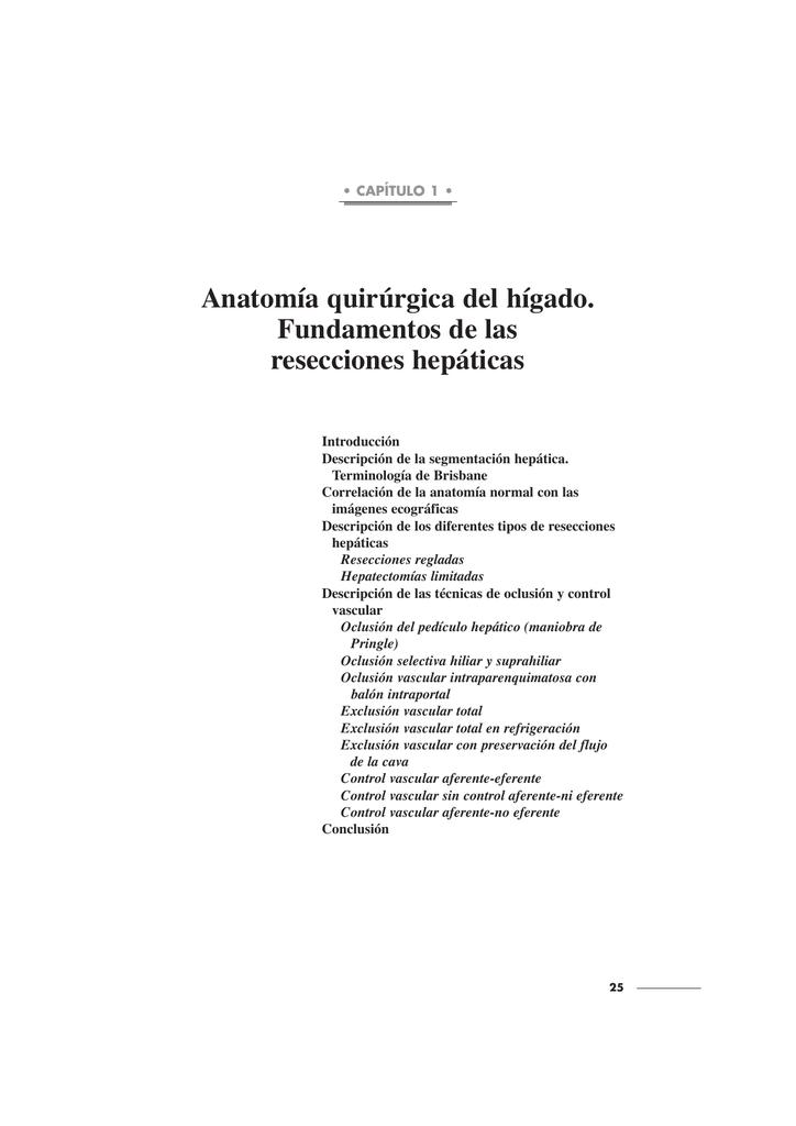 Único Anatomía Hígado Quirúrgica Ilustración - Anatomía y Fisiología ...