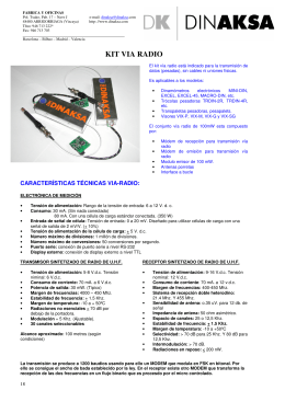 kit via radio - ACR - Sistemas Industriais