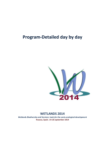 Program-Detailed day by day