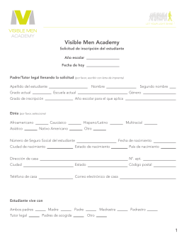 Visible Men Academy