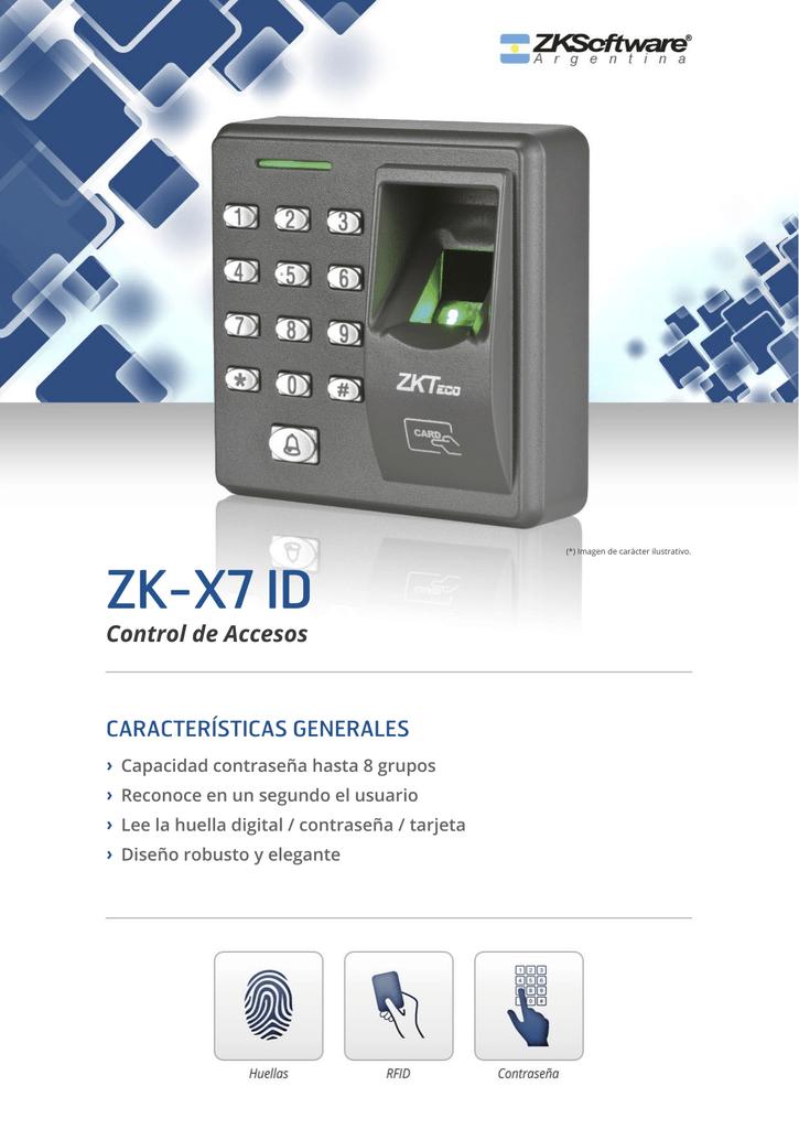 ZK-X7 ID - ZKSoftware