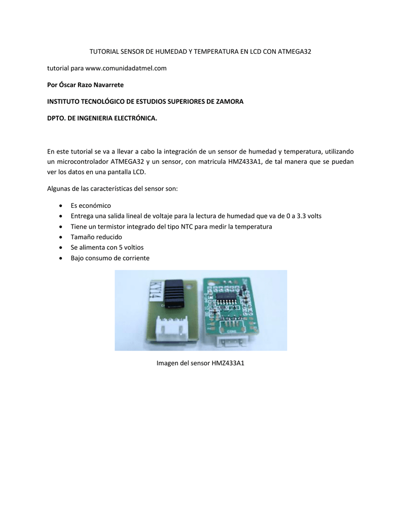 TUTORIAL SENSOR DE HUMEDAD Y TEMPERATURA EN LCD