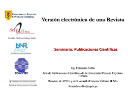 Version electronica de una Revista