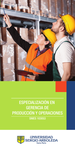 Descarga Brochure - Universidad Sergio Arboleda