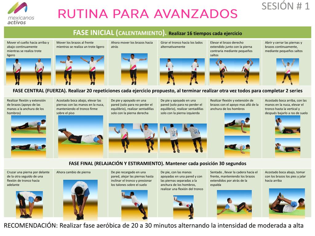 Para principiantes aerobica rutina