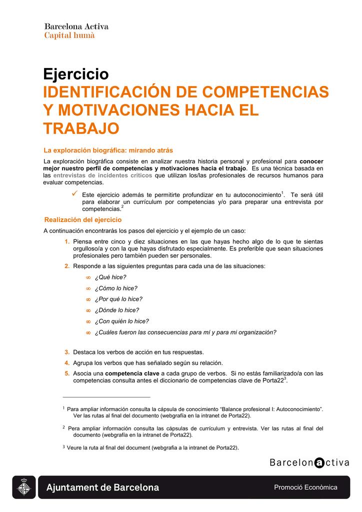 Atractivo Verbos De Acción Para La Construcción De Currículums ...