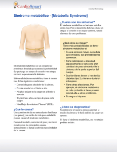 Síndrome metabólico - [Metabolic Syndrome]