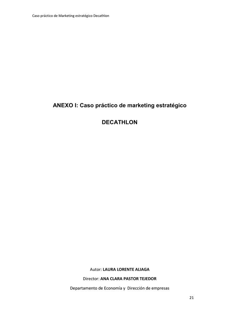 498e00090 ANEXO I  Caso práctico de marketing estratégico DECATHLON