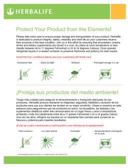 Protect Your Product from the Elements! ¡Proteja