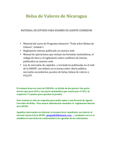 Requisitos para Examen de Agente Corredor 2014