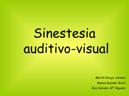Sinestesia auditivo