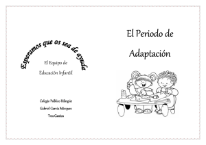 folleto periodo adaptacion -
