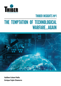 the temptation of technological warfare…again