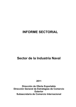 Sector Industria Naval